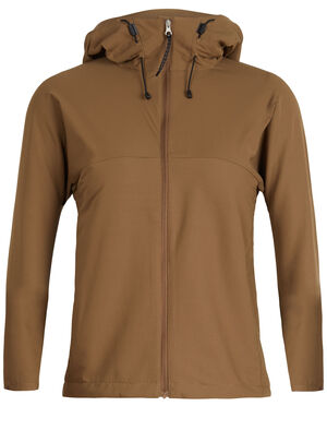 Femme 旅 TABI Merino-Shield Long Sleeve Zip Hood Dessinée par la maison japonaise GOLDWIN et conçue en collaboration avec icebreaker, la collection TABI allie les performances naturelles du mérinos à une esthétique raffinée.