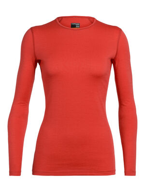 Womens Merino 200 Oasis Long Sleeve Crewe Thermal Top Our versatile, go-anywhere shirt made from breathable 100% merino wool jersey, the 200 Oasis Long Sleeve Crewe is our best-selling base layer top.