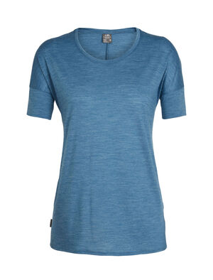 Womens Cool-Lite™ Solace Short Sleeve Low Crewe A classic T-shirt in a relaxed fit for all-year-round wear, the Solace Short Sleeve Low Crewe features Cool-Lite™, a blend of merino and natural TENCEL™