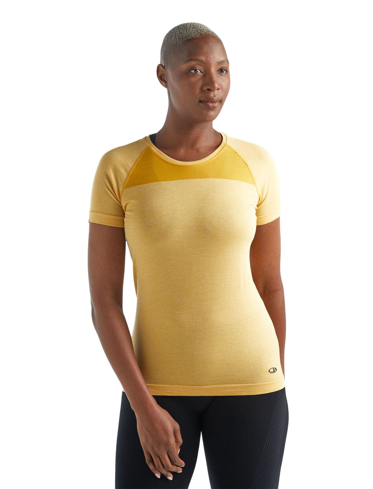 Cool-Lite™ Motion无缝短袖圆领上衣