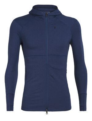 Merino Quantum II Long Sleeve Zip Hood Jacket