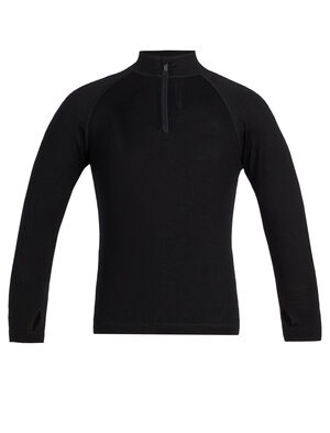 Kids Merino 260 Tech Long Sleeve Half Zip Thermal Top Our go-to zip-neck base layer top for active days and year-round layering, the 260 Tech Long Sleeve Half Zip features 260gm, 100% merino wool jersey fabric.