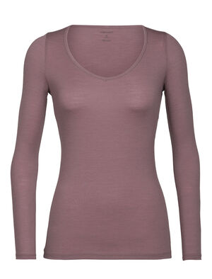 Womens Merino Siren Long Sleeve Sweetheart Top A soft and stretchy long sleeve T-shirt for everyday comfort and layering, the Siren Long Sleeve Sweetheart features a slim fit and our corespun merino wool blend fabric.
