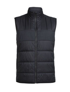 Mens MerinoLOFT™ Stratus X Vest A warm and lofty men's winter vest insulated with our MerinoLOFT™ merino insulation with recycled content, the Stratus X Vest has a full-zip casual style with zoned quilting for efficient warmth and thermal regulation.