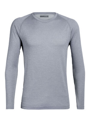 Mens Cool-Lite™ Motion Seamless Long Sleeve Crewe The Motion Seamless Long Sleeve Crewe is a lightweight and technical men's merino wool training base layer with incredible breathability, stretch, and wicking performance.