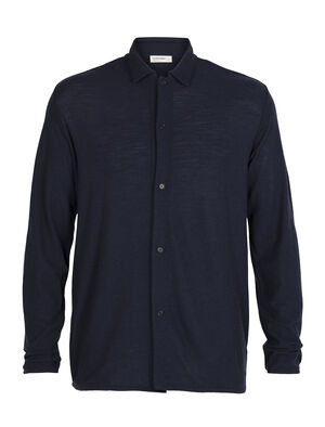 Mens Merino 180 Pique Shirt Jacket A lightweight men's layer made with soft and sustainable 100% merino wool, the 180 Pique Shirt Jacket is a stylish and incredibly comfortable piece for any day of the year.