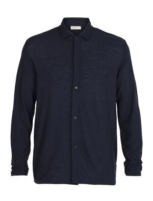 Heren 180 Pique overhemdjas Het 180 Pique overhemdjasje is een lichtgewicht layer voor heren, gemaakt van zachte en duurzame 100% merinowol. Het is een stijlvol en ongelooflijk comfortabel kledingstuk dat je het hele jaar door kunt dragen.