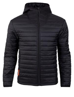 男款 MerinoLOFT™ Stratus Zip Hood Our hooded men's merino wool insulated jacket for technical performance, the Stratus LS Zip is a functional puffy jacket with a sustainable design.