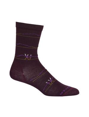 Merino Lifestyle Ultralight Crew Ski Socks Backcountry