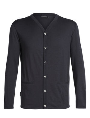 Mens 旅 TABI Oasis Cardigan A classic button-up men's merino wool sweater made with our 100% merino fabric, the Oasis Cardigan is part of our Tabi collection, a collaboration with Japanese apparel house Goldwin.
