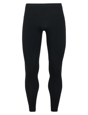 Mens Tracer Tights Form-fitting running leggings for cold-weather trails and roads, the Tracer Tights feature a stretchy merino wool blend with Lycra®.
