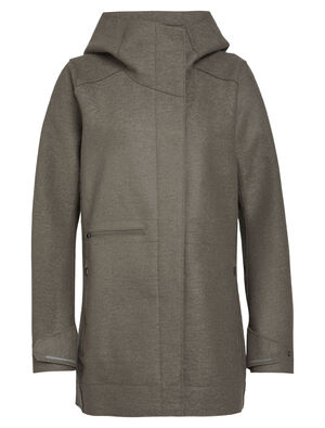 女款 Merino Ainsworth Hooded Jacket Ainsworth带帽夹克采用100%加厚毡状美丽诺羊毛,舒适有型,出色应对天气变化,令您畅享羊毛面料的天然优点,在寒冷的天气中提供有效保暖和防护。