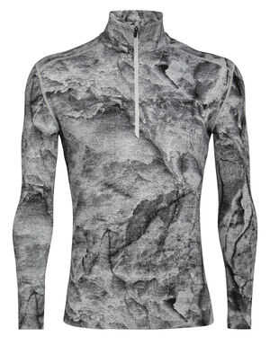 Mens Merino 250 Vertex Long Sleeve Thermal Half Zip Top IB Glacier Our midweight, 100% merino wool base layer top, the 250 Vertex Long Sleeve Half Zip IB Glacier is ultra-comfortable and breathable in cold conditions, and offers a unique look and feel.