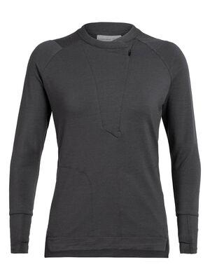 女款 Saige Long Sleeve Half Zip Saige长袖半拉链上衣将简洁现代的廓形与透气防臭的美丽诺羊毛面料相结合,打造出一款旅行时亦可彰显卓越品位的高档女款上衣。