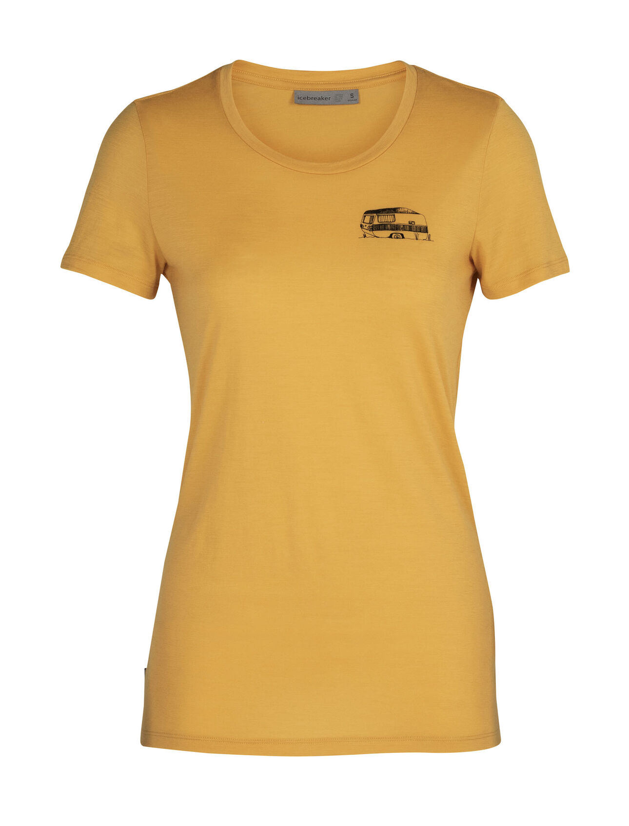 Merino Tech Lite Short Sleeve Low Crewe T-Shirt Caravan Life