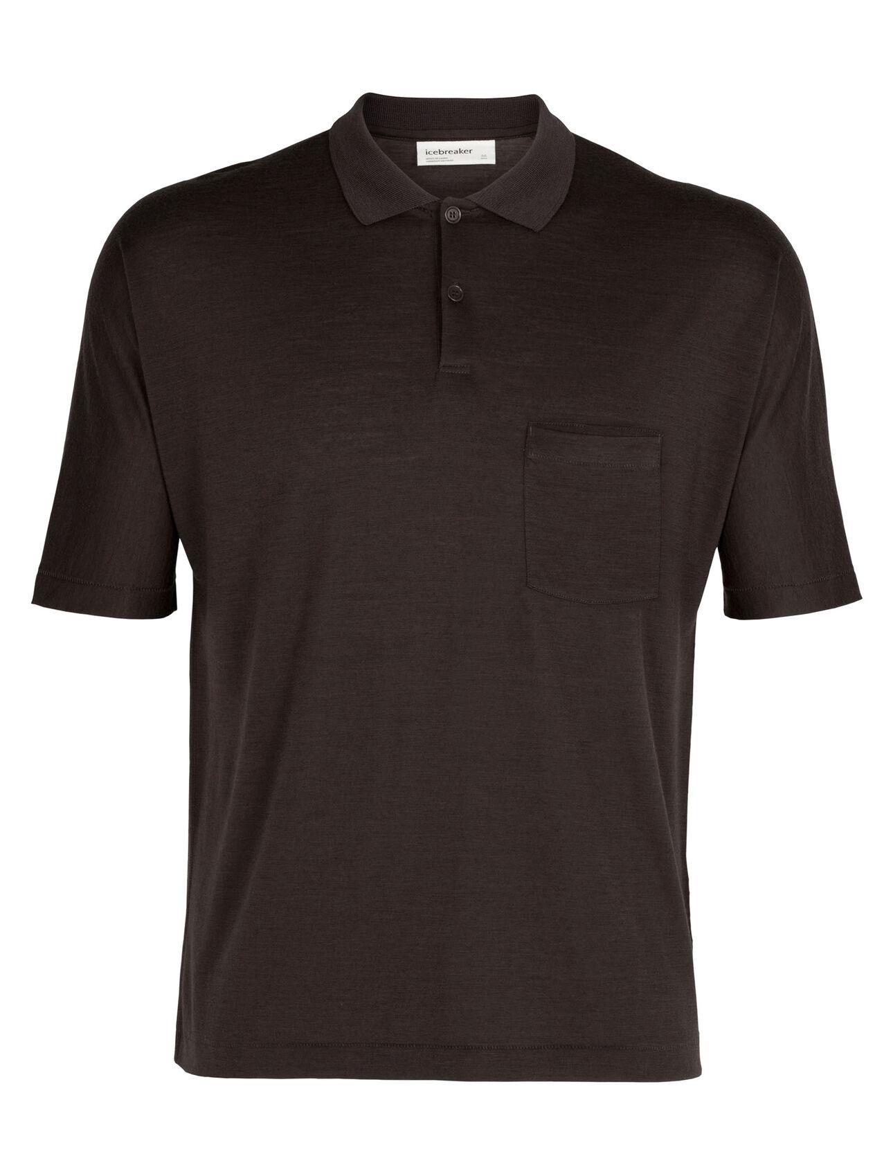 Cool-Lite™ Merino Short Sleeve Polo Shirt