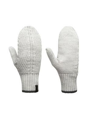 男女通用 男女通用Waypoint连指手套 Waypoint连指手套以柔软、保暖、透气的100%美丽诺羊毛制成一款经典针织连指手套,是您日常冷天必备单品。