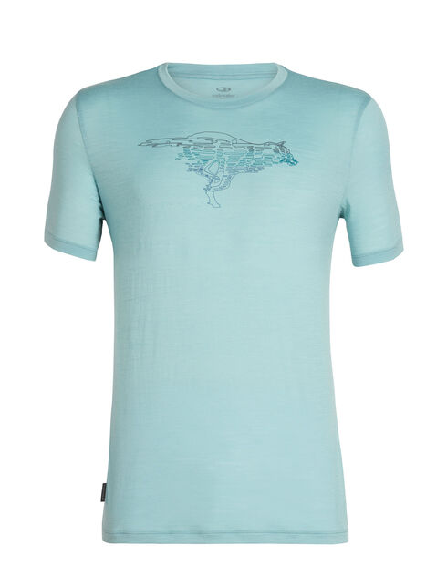 Tech Lite Short Sleeve Crewe Running Wolf