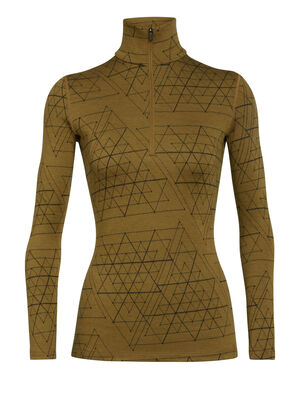 Merino 250 Vertex Long Sleeve Half Zip Thermal Top Ice Structure