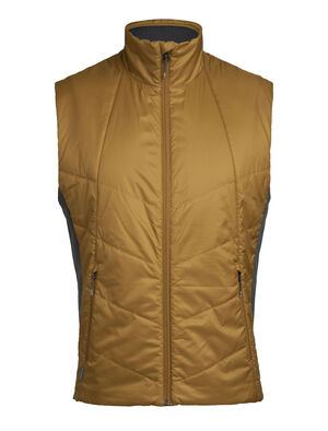 Mens MerinoLoft™ Helix Vest A technical lofted vest made with sustainable merino wool and recycled materials, the Helix Vest is a warm winter outer layer for everyday versatility.