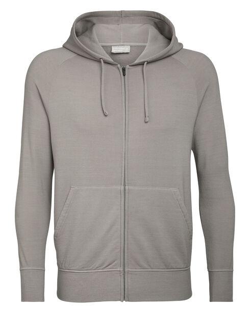 Men/'s PERFORMANCE-T à manches longues Pullover Sweat à capuche taille XL-Gris Ombre