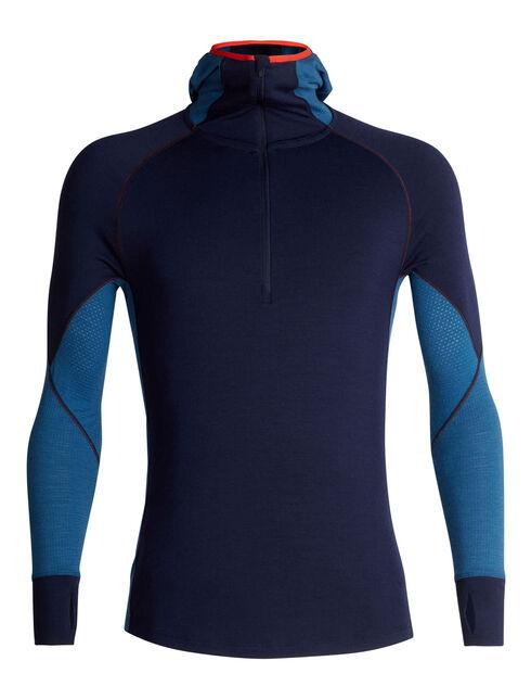 BodyfitZONE™ 260 Zone Long Sleeve Half Zip Hood