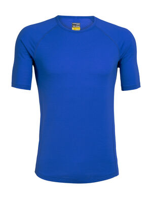 Mens BodyFitZone™ Merino 150 Zone Short Sleeve Crewe Thermal Top Our lightest base layer top that's perfect for active adventure and everyday training, the 150 Zone Short Sleeve Crewe features 150gm jersey corespun with LYCRA® to maximize flexibility.