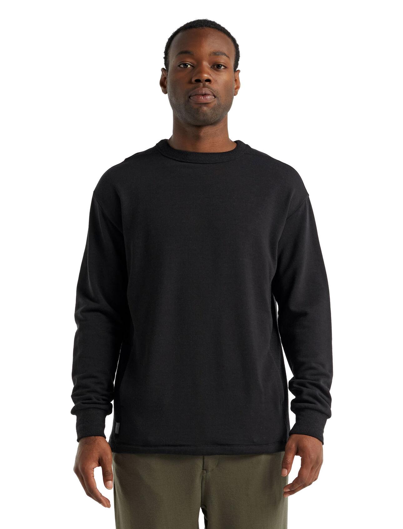 RealFleece™美丽诺羊毛Dalston长袖运动衫