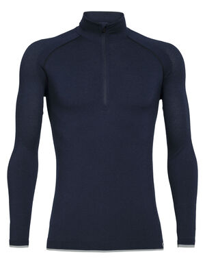 Merino 200 Zone Seamless Long Sleeve Half Zip Thermal Top