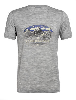 Mens Tech Lite Short Sleeve Crewe K2 Crest Our most versatile tech tee, in breathable, odour-resistant merino wool. Artist Scott Elser creates a visually striking homage to the world's second-tallest crest, the savage mountain', K2.