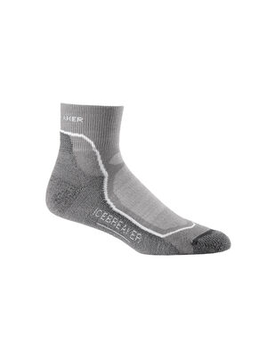 Mens Merino Hike+ Light Mini Socks Lightweight high-performance mens merino wool hiking socks with added stability and support, the Hike+ Light Mini  features a soft and durable merino blend.