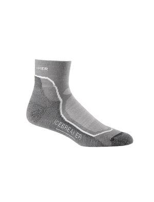 男款 美丽诺羊毛Hike+轻薄低筒徒步袜 作为一款男款美丽诺羊毛徒步袜,Hike+轻薄低筒徒步袜质地轻盈、性能先进,选用柔软耐穿的美丽诺羊毛混纺,更加稳定,支撑力强。