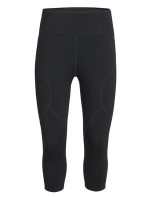 Womens Tranquil 3Q Tights The Tranquil 3Q Tights are sporty and slim-fit, designed for movement and support in our soft merino terry fabric with LYCRA® for dynamic stretch and mobility.