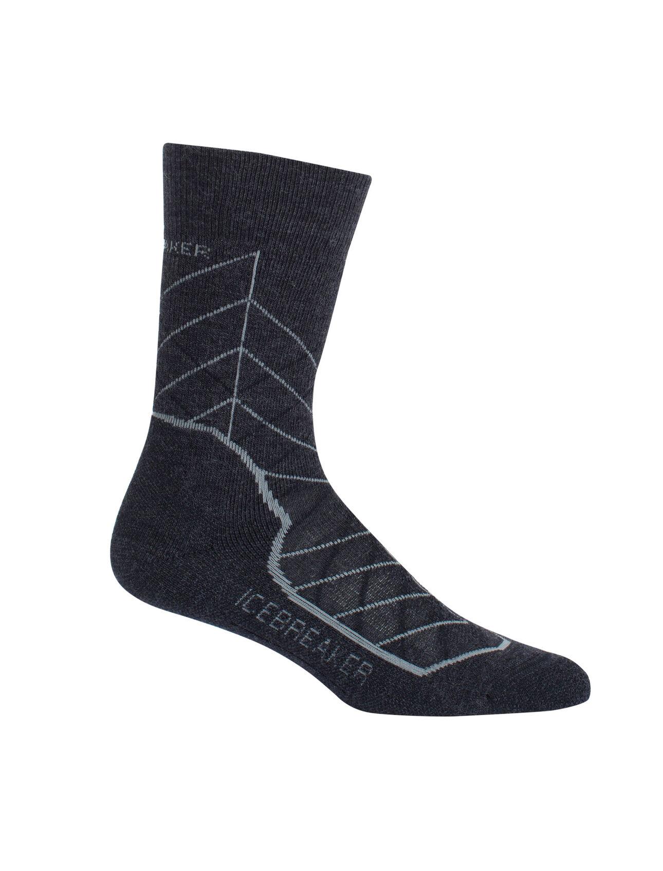 Icebreaker Merino Womens Hike Medium Cushion Merino Wool Crew Socks