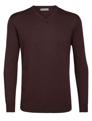 Merino Shearer V Neck Sweater
