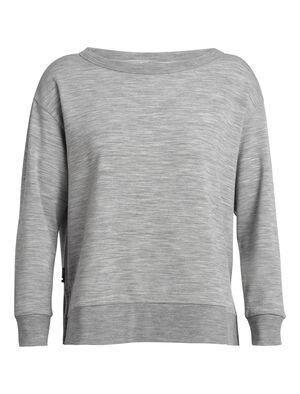 女款 旅 TABI RealFLEECE®长袖圆领上衣 RealFLEECE® Hybrid长袖圆领上衣将柔软的美丽诺羊毛RealFLEECE®面料和经典运动衫廓形理想结合,这款格外舒适的套头衫为您出色保暖,且不失有型。
