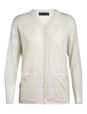 Womens Cool-Lite™ Merino Cardigan A casual merino-blend cardigan in a lightweight fabric, the Cool-Lite™ Cardigan is modern and stylish, with the natural comfort of merino.