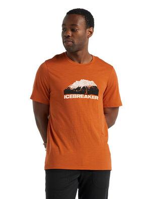 美丽诺羊毛Tech Lite II 短袖T恤(icebreaker Mountain)