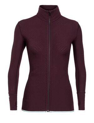 RealFleece® Merino Descender Long Sleeve Zip Jacket