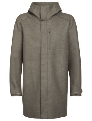Mens Merino Ainsworth Hooded Jacket Providing cool-weather warmth and protection derived from the natural benefits of wool, the Ainsworth Hooded Jacket features 100% heavyweight felted merino for a comfortable and stylish refuge from the elements.