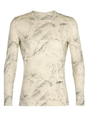 Nature Dye Merino 200 Oasis Long Sleeve Crewe Thermal Top IB Glacier