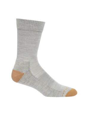 Mens Merino Hike Light Crew Socks Lightweight, durable and odor-resistant trail socks designed for maximum comfort and premium fit, our Hike Light Crew socks are ideal for day hiking and warmer conditions.