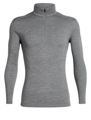 Mens 260 Tech Long Sleeve Half Zip Our midweight men's zip-neck base layer for cold conditions, the 260 Tech Long Sleeve Half Zip is a go-to piece for winter layering.