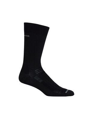 男款 Hike中筒徒步打底袜 超薄耐穿的Hike中筒徒步打底袜透气、快干且舒适,可以搭配加厚袜或在热天单穿。
