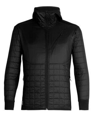 男款 MerinoLOFT™ Helix长袖带帽拉链外套 男款Helix长袖拉链外套将环保型面料和先进的技术设计相结合,是一款适合在冷天进行高强度运动时穿着的中层衣,比如滑雪、登山、雪地健行或远足。正身部分采用MerinoLOFT™保暖技术,温暖透气,是合成保暖衣的天然替代品。100%再生涤纶布面,配以DWR持久防水,可防小雨。侧面拼接料选用富有弹性的美丽诺羊毛平纹针织面料,帮助运动时调节身体温度。100%美丽诺羊毛梭织衬里确保温暖舒适。插手口袋和胸兜带拉链,方便放入小件随身物品,比如唇膏、零食和手机。