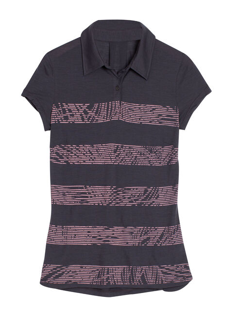 Cool-Lite Sphere Short Sleeve Polo Palm Slice