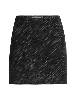 Womens Merino Affinity Skirt Snow Storm Soft, stretchy and made with 100% merino wool, the Affinity Skirt Snow Storm is perfect for layering on cold days, or for next-to-skin comfort when worn alone.