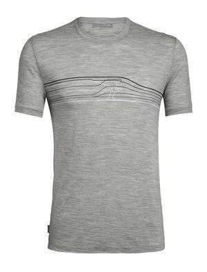 Merino Spector Short Sleeve Crewe T-Shirt Ski Racer