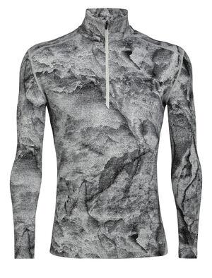 Demi-zip manches longues 250 Vertex IB Glacier