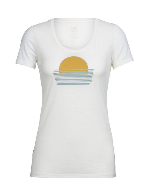 Tech Lite Short Sleeve Scoop Setting Sun